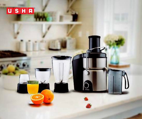 USHA JUICERS: Keeping fruits by the window if not inside a Fridge makes sense