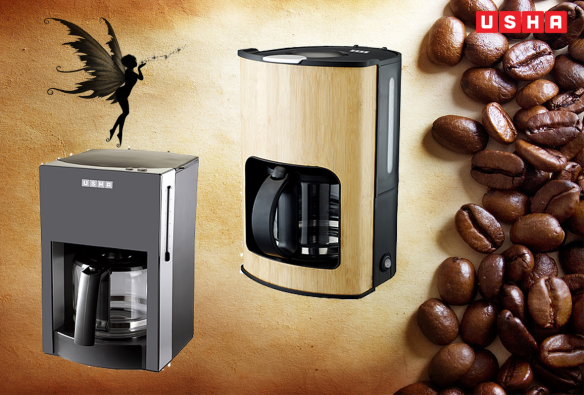 USHA Coffee Machines, to help you keep the magic alive