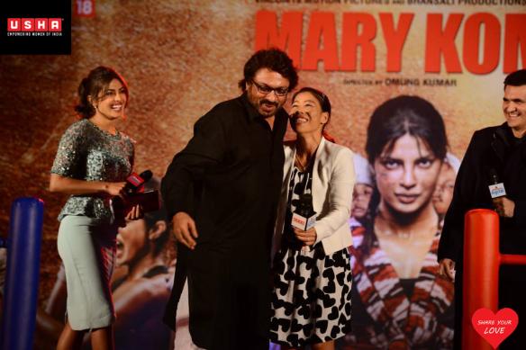 Priyanka Chopra, Mary Kom, Sanjay Leela Bhansali & Omung Kumar