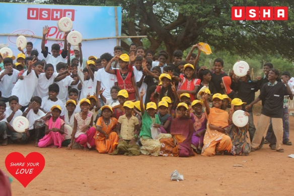 Celebrating The Sporting Spirit of India through Rural Frisbee Workshops