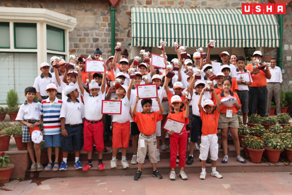 A  USHA Junior Golf Camp