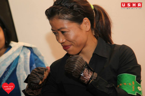 Mary Kom at The HAB by USHA