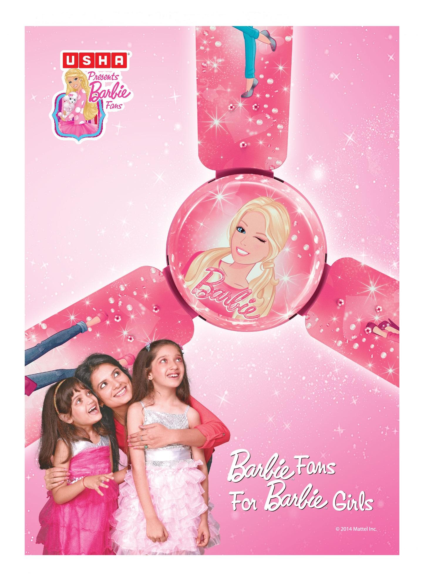 Usha Barbie Leaflet