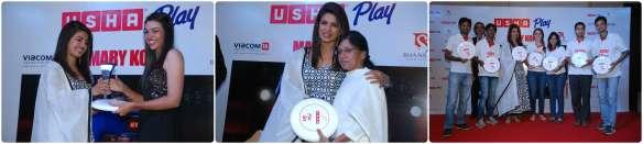 Priyanka Chopra felicitates various Sporrtsperson
