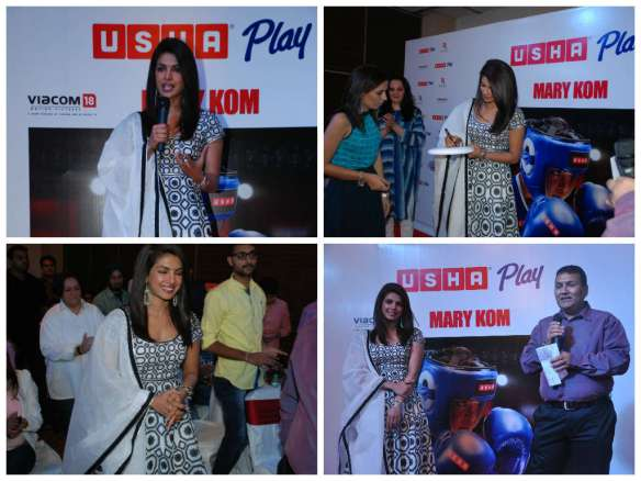 Priyanka Chopra hailed the power of sports at Usha Play