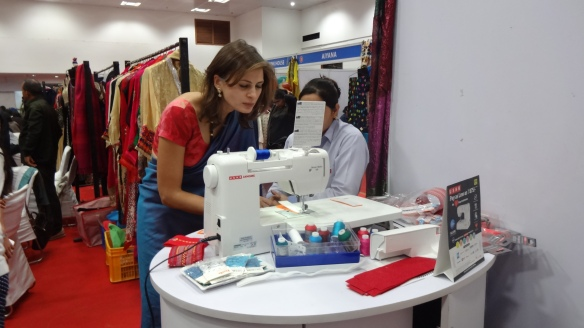 Sara Pilot made Bookmarks on the Usha Janome Dream Maker 120