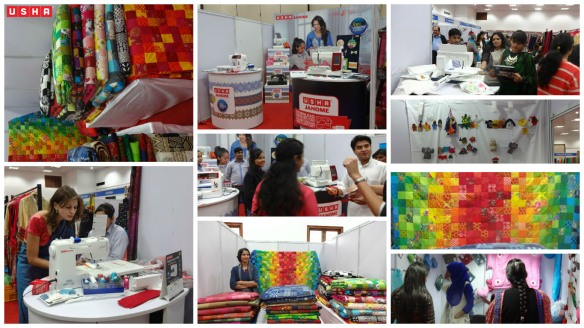 Scenes from the Usha Stall at Jamia Bazzar